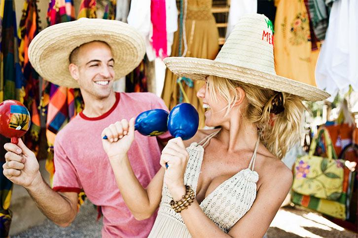 romantic shopping playa carmen cancun