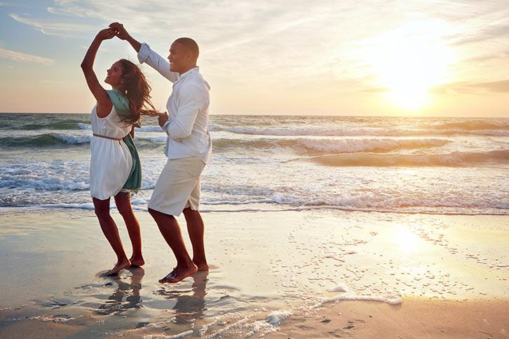 valentines day dance cancun beach