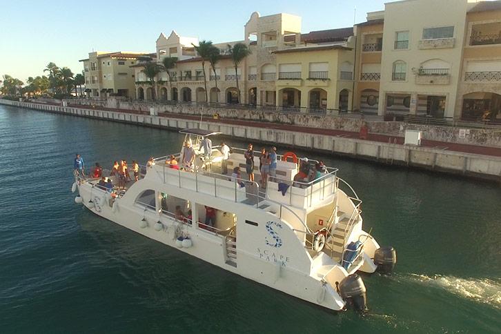 cap cana private sunset cruise