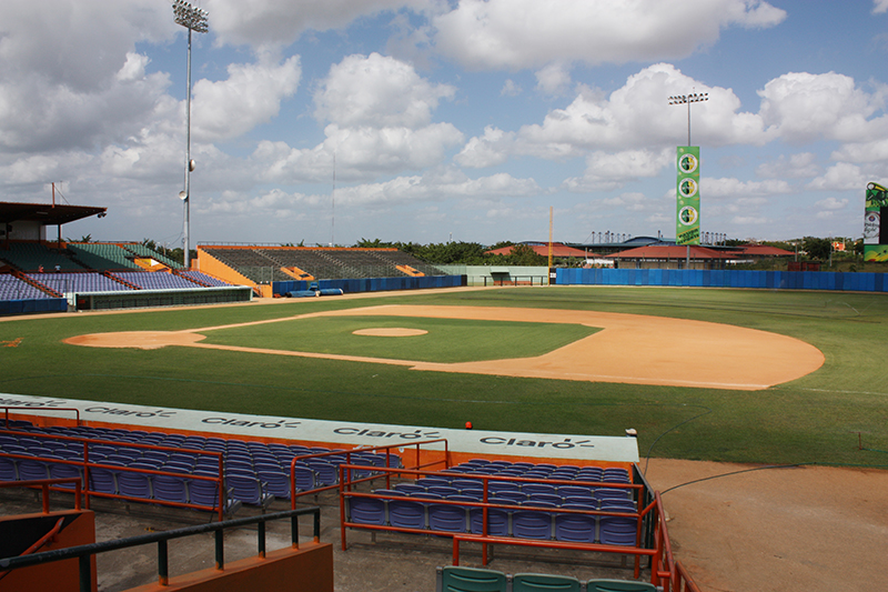 Francisco Michelli Baseball Stadium - La Romana - photo by Edwin Rijo