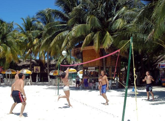 Beach sports - beach volleyball
