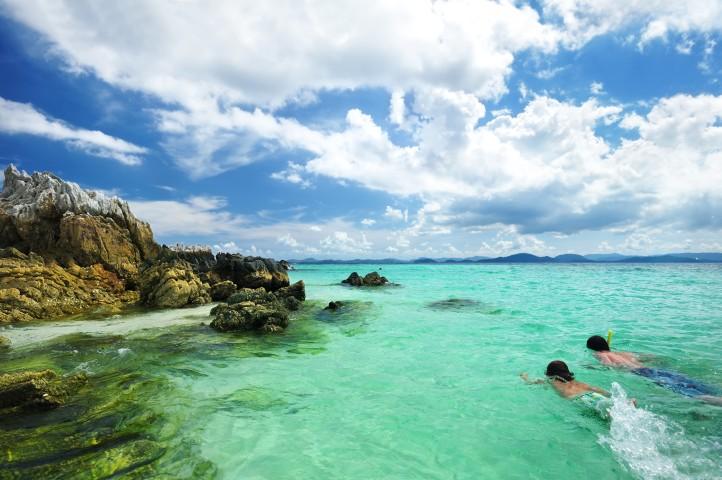 Beach sports - snorkeling