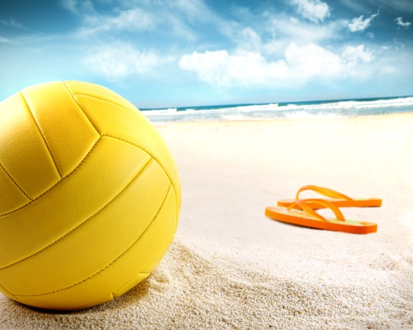 Beach sports - volleyball