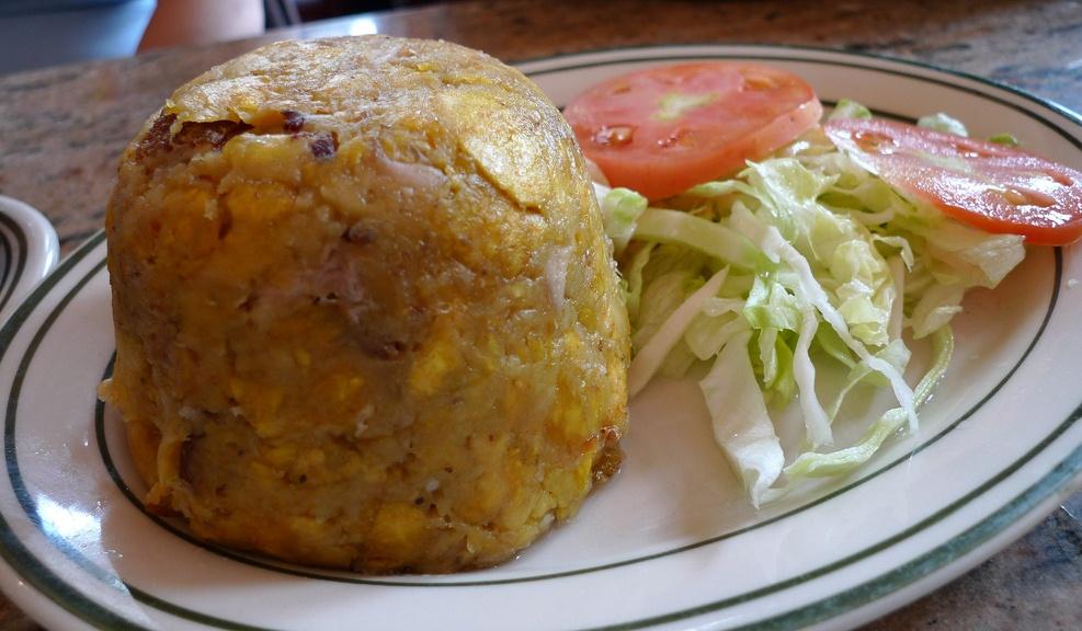 Mofongo dish - Punta Cana traditional food