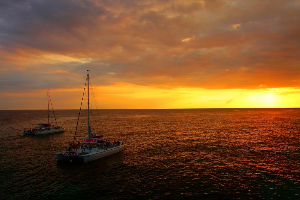 Sunset sail in Montego Bay - Romantic Idea
