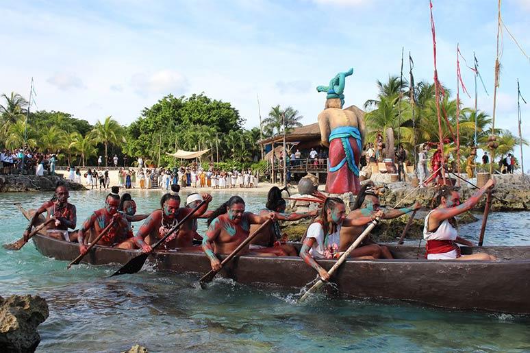 xcaret travesia sagrada maya