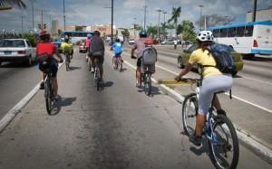 Sunday morning bike tour in Puerto Vallarta