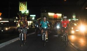 Night bike tour in Puerto Vallarta