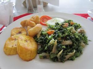 Jamaican food - Callaloo