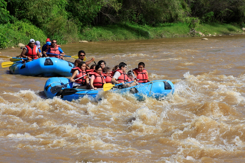 White water rafting in Huatulco