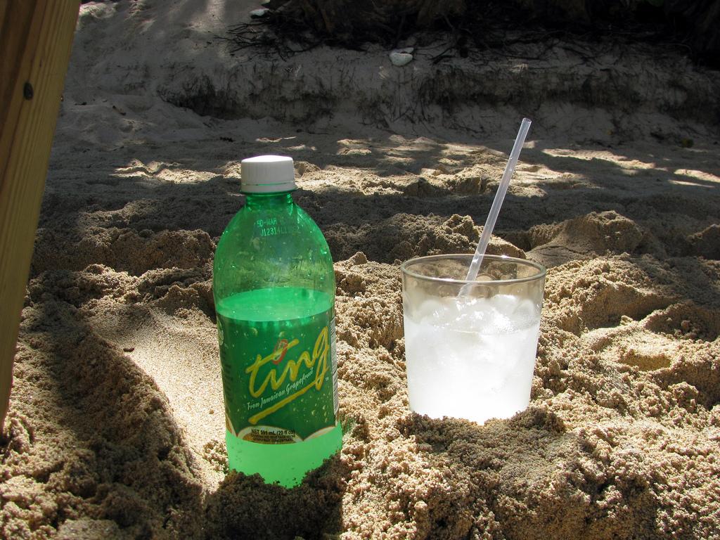 Jamaican Ting soda