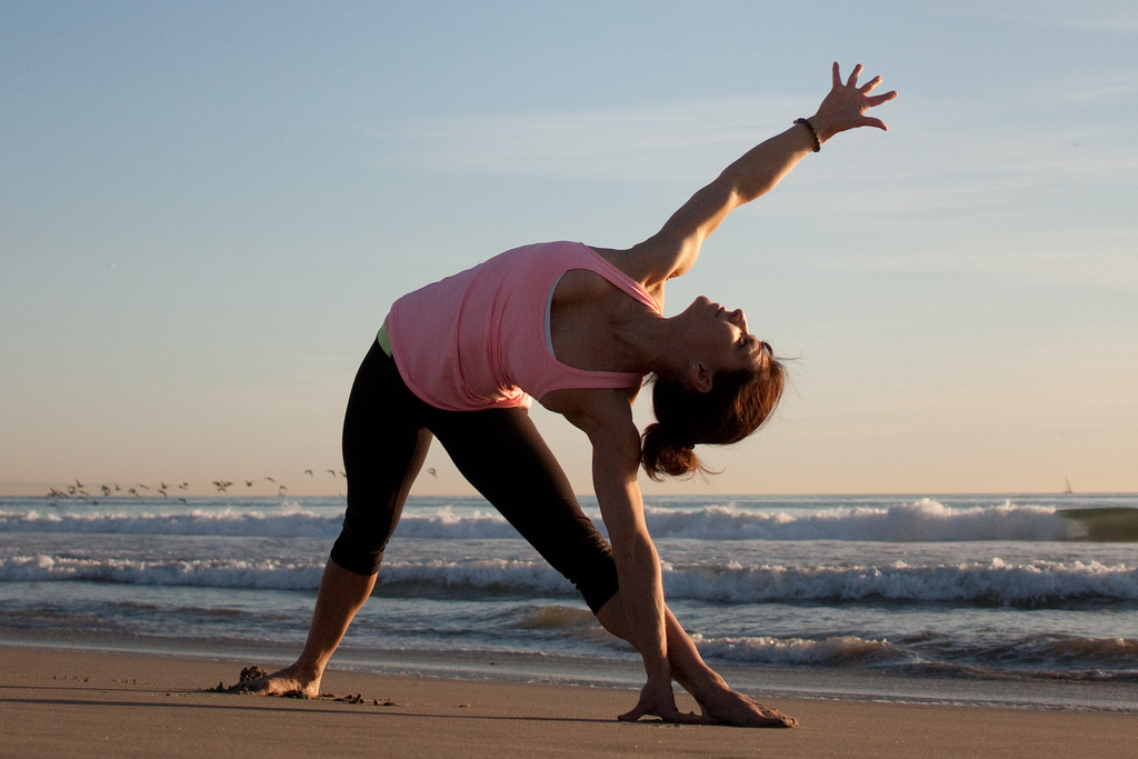 Relax with a class of yoga or pilates
