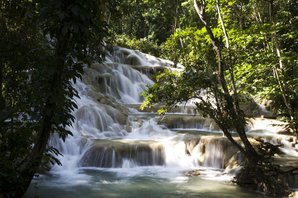 Dunn's River waterfalls