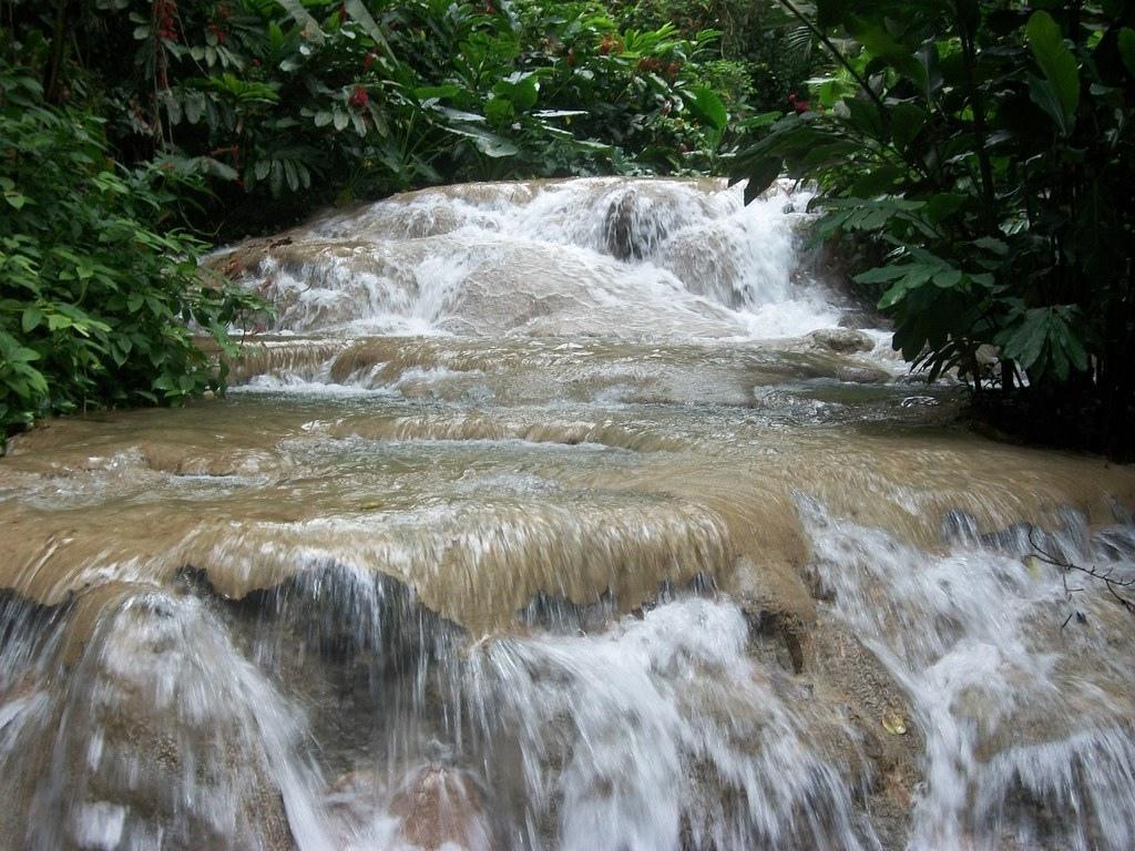 Enchanted Gardens waterfalls