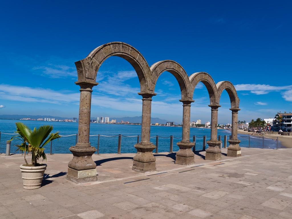 Los Arcos at El Malecon in Puerto Vallarta