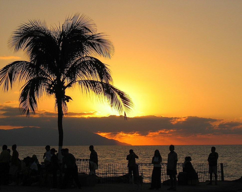 Sunset from El Malecon
