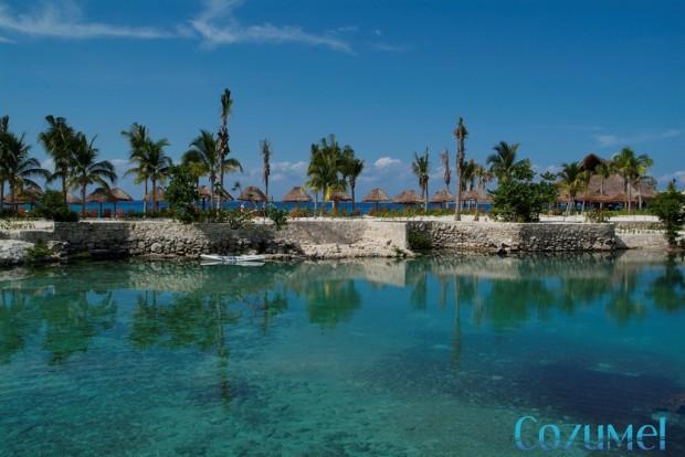 Chankanaab lagoon in Cozumel