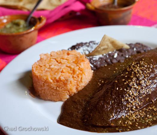 Mole - traditional Oaxaca dish