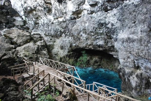 Hoyo Azul tour in Punta Cana