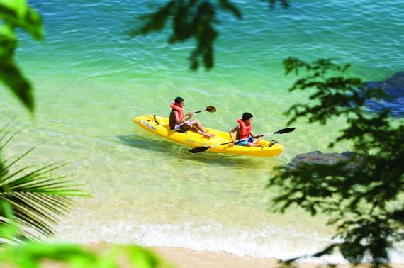 Kayaking in Las Caletas - Family Tour in Puerto Vallarta