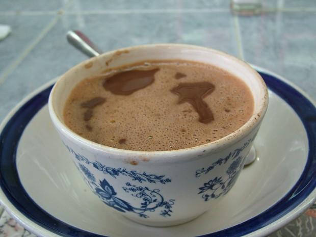 Oaxaca hot chocolate near Huatulco