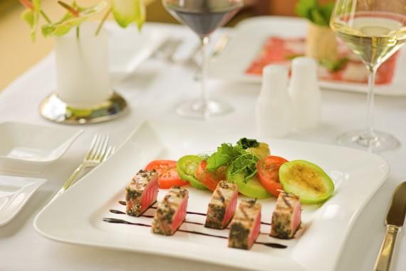 Restaurant at the Marriott Cancun