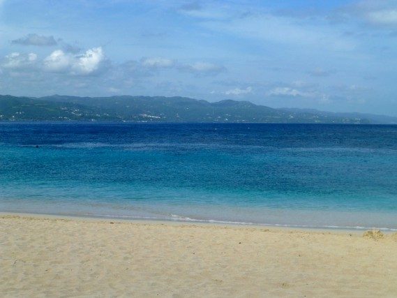 Gorgeous healing waters in Montego Bay