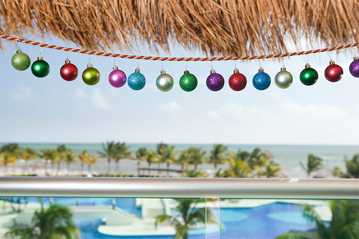 all-inclusive resort christmas in cancun