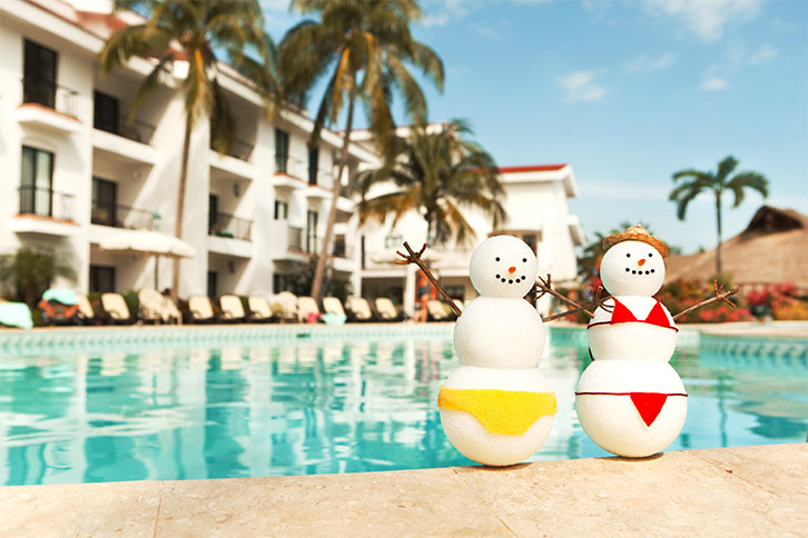 christmas new year cancun all-inclusive vacation mexico