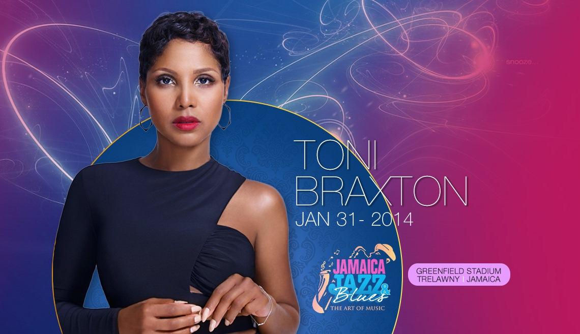 Toni Brazton - Jamaica Jazz & Blues Festival 2014