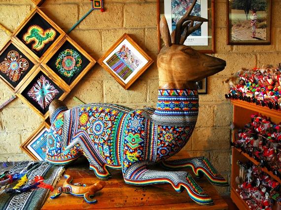 Huichol art, Puerto Vallarta