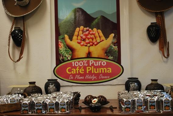 Pluma Hidalgo coffee