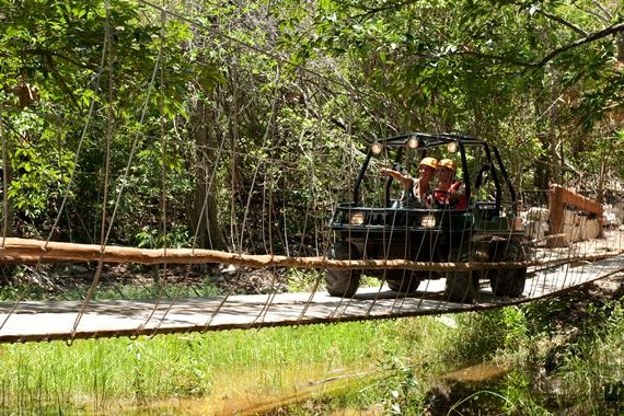 Amphibious vehicle, Xplor Adventure Park