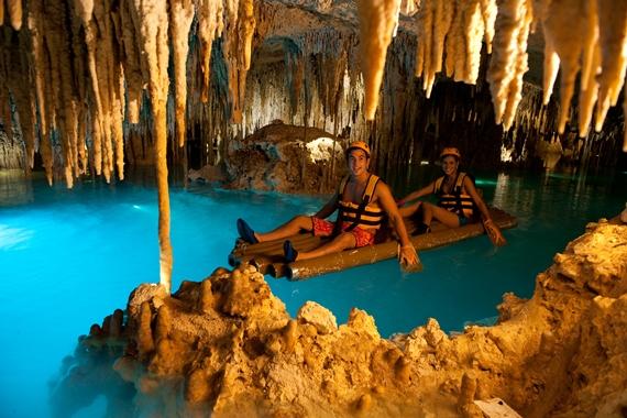 Underground river, Riviera Maya