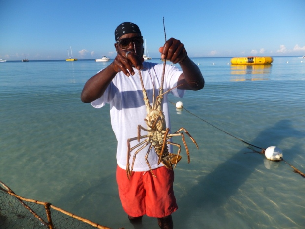 Fireman's lobster pit in Negril