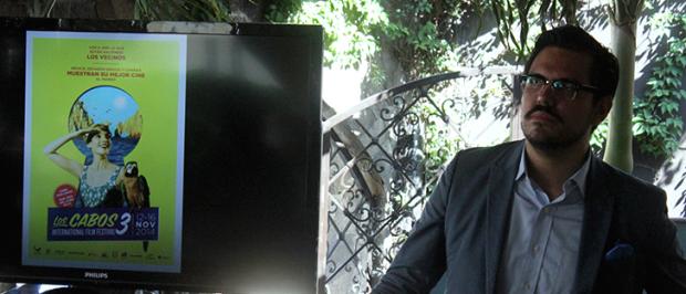 Alonso Aguilar-Castillo, Director of the Los Cabos International Film Festival
