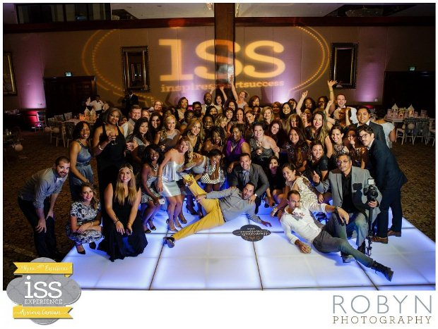 Group photo of the expert wedding planners attending the ISS wedding planner event in the Riviera Maya, Mexico