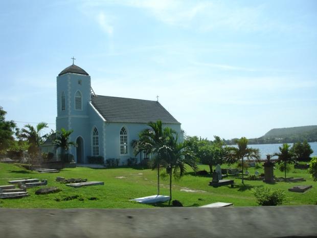 A typical Jamaican church