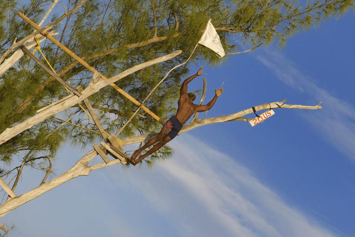 Jamaican Diving Jumper