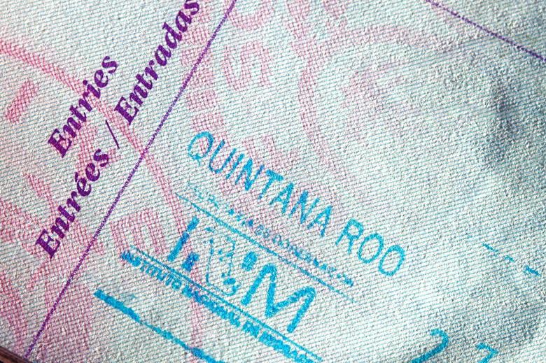 Mexican Passport Stamp