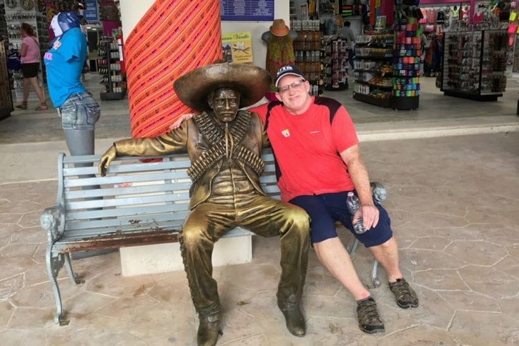 Mike with Panco Villa