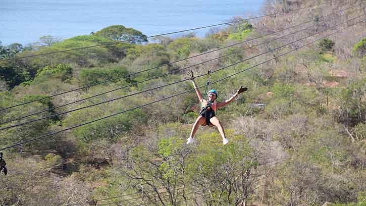 Things to Do Near Papagayo Beach Diamante Zipline Circuit