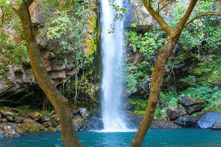 Waterfalls near Guanacaste, Costa Rica La Cangreja