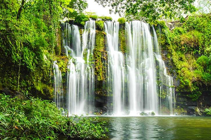 Waterfalls near Guanacaste, Costa Rica Llanos de Cortez