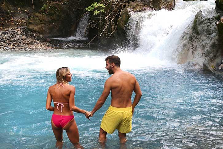 Waterfalls Near Guanacaste Costa Rica