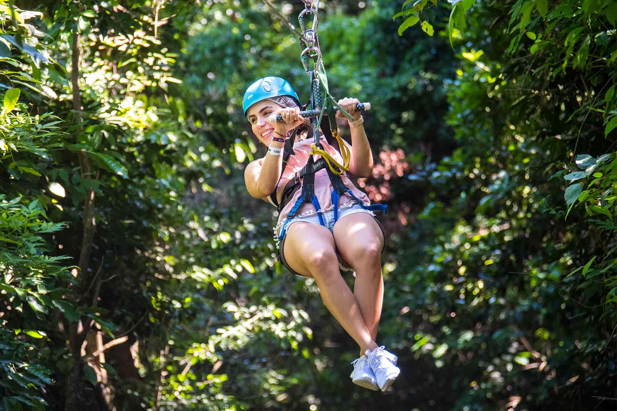 What is Mystic Mountain Jamaica Zip Line