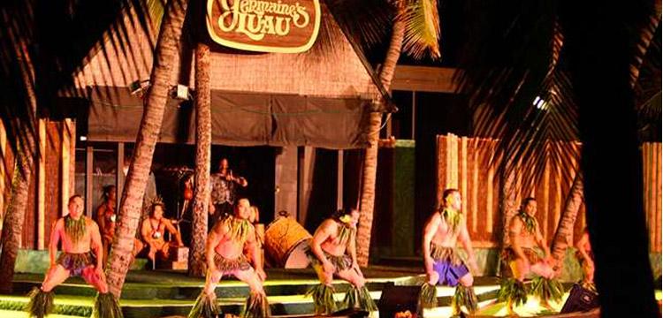 Germaines luau Oahu