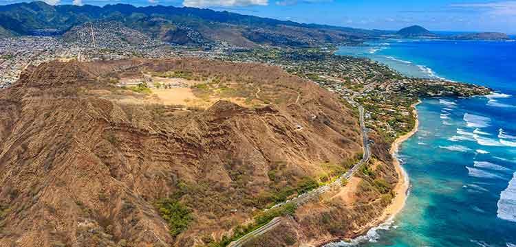 oahu road trip hawaii diamond head volcano waikiki