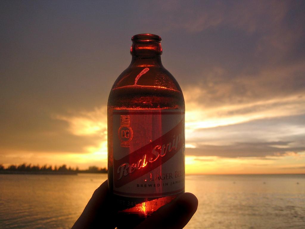 jamaica airport beer montego