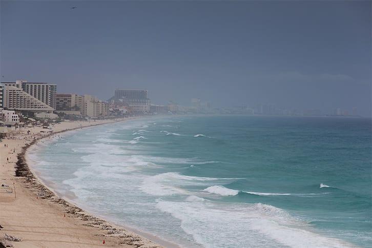 hurricane season in cancun riviera maya playa del carmen